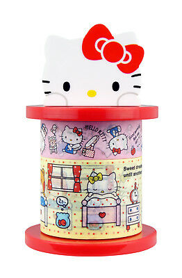 Sanrio Hello Kitty Paper Deco Tape with Holder