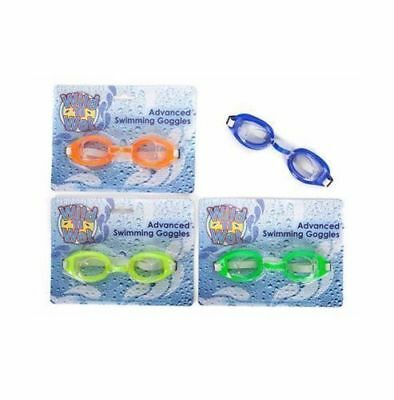 Childrens Junior Adjustable Swimming Goggles. Kids Easy Comfort Fit Holidays Fun