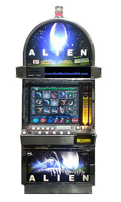 Igt Alien Gambler Video Machine With Brand New Lcd Screen, Free Shipping