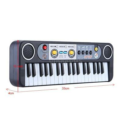 37 Keys Multifunctional Mini Electronic Keyboard Music Toy with Microphone