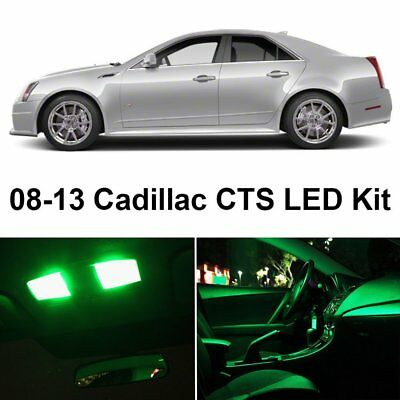 16x ice blue interior led lights package kit for 2008 2013 cadillac cts cts v cad. Black Bedroom Furniture Sets. Home Design Ideas