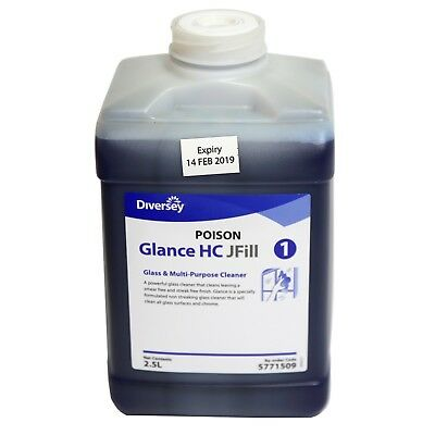 Diversey Glance® 5771509 HC JFill Glass & Multi-Surface Cleaner 2.5L