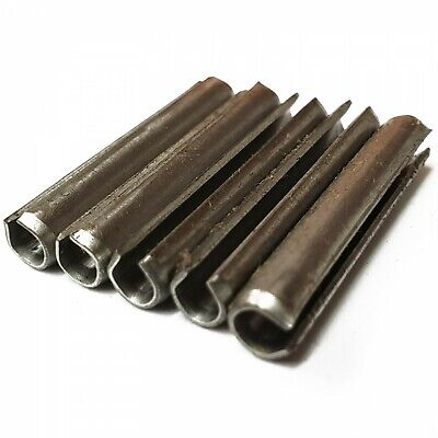 M4 M5 M6 A2 Stainless Steel Split Roll Pins Slotted Spring Sellock Tension