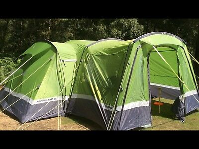 hi gear kalahari 10 Tent And Porch & HI Gear Kalahari 10 Footprint Camping Tent Accessories - £17.99 ...