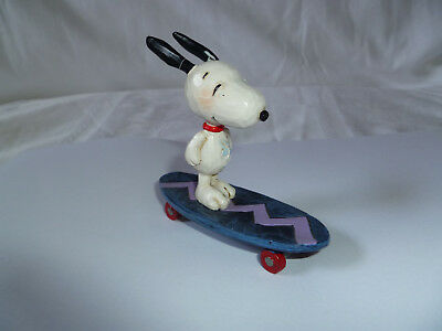 The Peanuts Snoopy on Skateboard Jim Shore
