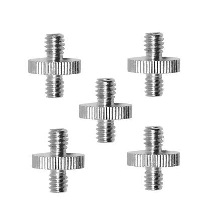 "Behomy 5 Pieces 1/4"" to 1/4"" Camera Convert Screw Adapter for Camera Equipment"