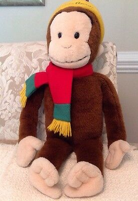 Macy's Limited Edition Curious George Plush Doll - Great Shape, 01EF-10458