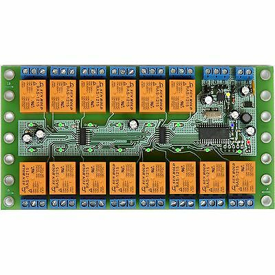 STR2DO14H RS-485 board module controller 14 Outputs 12V Relays Automation