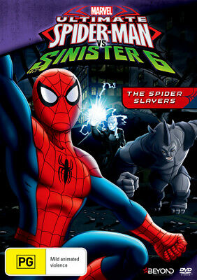 Ultimate Spider-Man vs the Sinister 6: The Spider Slayers  - DVD - NEW Region 4