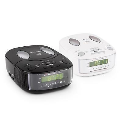 B-Ware - Auna Dreamee Stereo Radiowecker Ukw Mw Tuner Cd Player Dual Alarm