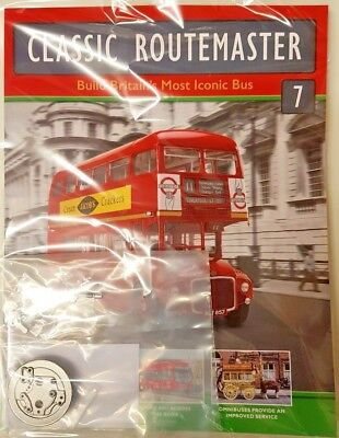 Build The Routemaster Official Replica Iconic British Bus = 7 = Scale 1:12