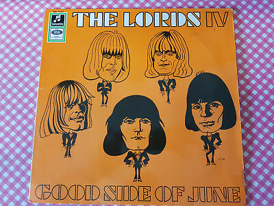 The Lords IV - Good Side Of June 1966 rot weiß Gold Label Columbia SMC 74244
