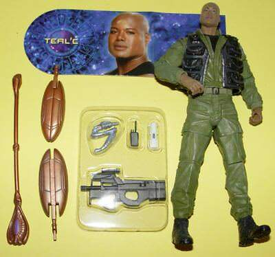 Stargate Diamond Select Toys - Teal´c (S2, Stabwaffe beschädigt) #13011AGB