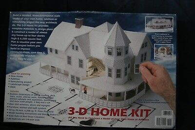 Beautiful Design Works 3 D Home Kit All You Need To Construct A Model Of