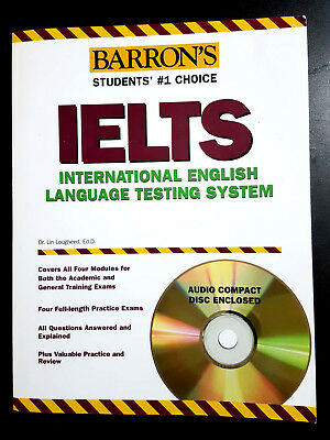 Barron's IELTS with CD, Dr. Lin Loughleed