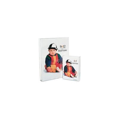 """New Mcs Original Clear Acrylic Box Picture Frame For A 4X6"""" Photograph"""