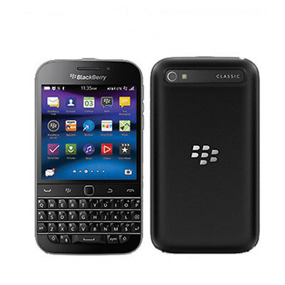 BlackBerry Q20 Classic 16GB Black (Unlocked) 1 Year Warranty Grade A Excellent