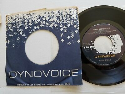 MITCH RYDER - What Now My Love / Blessing In Disguise 1967 POP PSYCH Dynovoice