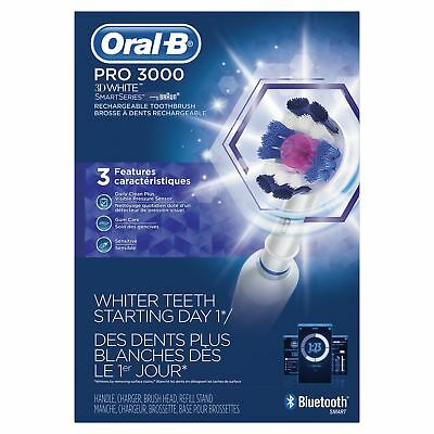 Oral-B Pro 3000 Electronic Power Rechargeable Battery Electric Toothbrush...