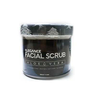 Elegance Facial Scrub Blue (Aloe Vera) 500ml