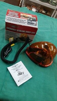 Haul-Master 12V Vehicle Emergency Revolving Amber Light