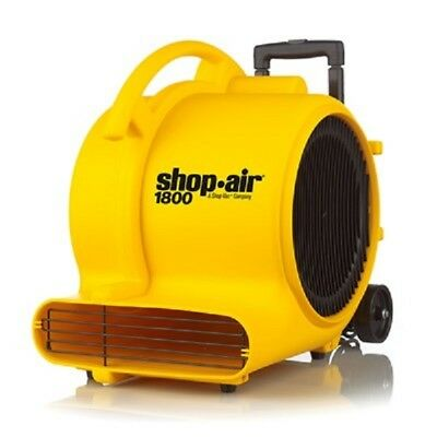 Shop Vac  1030100  Shop Air 1800 Max Cfm Air Mover/ Dryer
