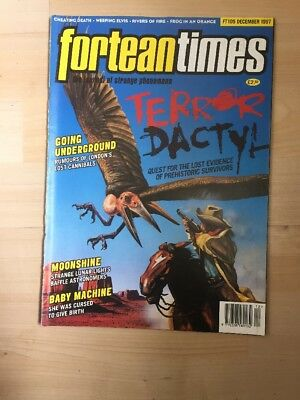 Fortean Times FT 105 Dec 1997- Terror Dactyl- Rumours of London's Lost Cannibals
