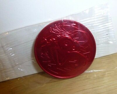 Official Jim Henson's Muppets Gonzo Limited Edition Striker 1995 New Red Pog