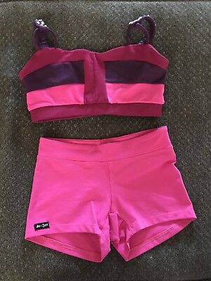 "Jo and Jax dancewear Set Top And Shorts,Was Worn On The Show ""Dance Moms"" Size S"