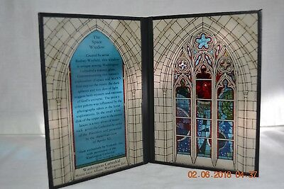 Seriglass Yorkcraft Stained Glass Window Folding Panel   Washington Cathedral