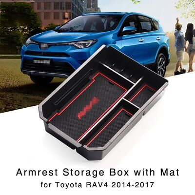 Armrest Storage Box for Toyota RAV4 2014 2015 2016 2017 New Central Console Tray