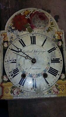 Antique Black Forest Shield CLock