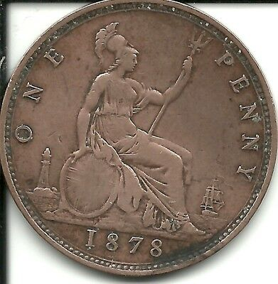 Great Britain   Penny 1878