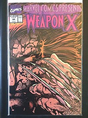 Marvel Comics Presents  Weapon X    #84   Wolverine    (1991)     VF+