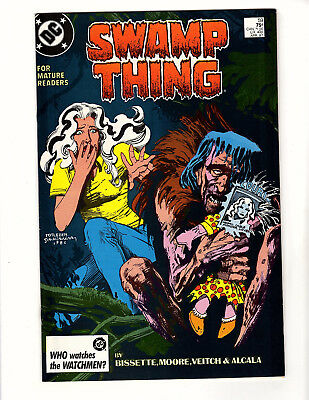 Swamp Thing #59 (1987, DC) FN+ Vol 2 Alan Moore Rick Veitch Patchwork Man