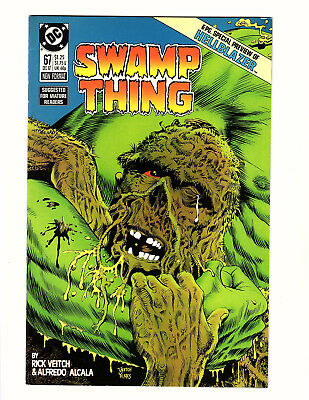 Swamp Thing #67 (1987, DC) Vol 2 Hellblazer Preview Rick Veitch Story & Art