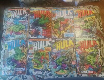 INCREDIBLE HULK 191-220 Very Good to Very Fine. Nice looking lot of 30 books