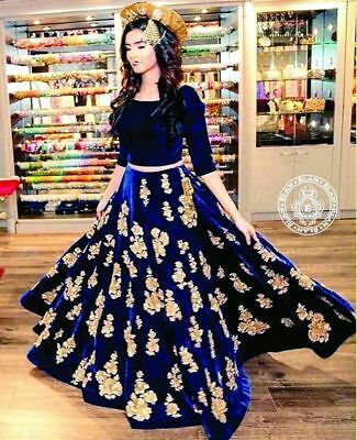 Wedding Bollywood Desinger Lehengha Choli Pakistani Special Anarkali Lehenga