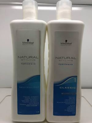 Schwarzkopf Natural Styling Hydrowave Classic Perm Set - 1 Normal Hair