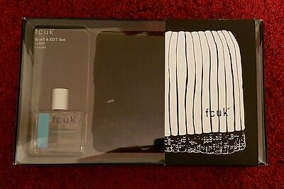 FCUK Scarf & EDT Set. New in Box.