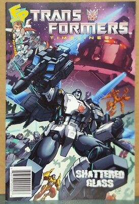 Rare TRANSFORMERS BOTCON 2008 comic book First Shattered Glass Story