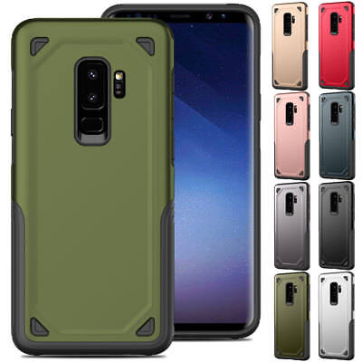 Shockproof Tough Rugged Armor Case Cover For Samsung Galaxy S8 S9+ Plus S7 Edge
