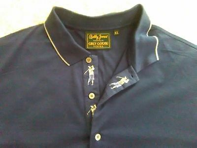 Excellent Condition Bobby Jones Grey Goose Golf Shirt Xl
