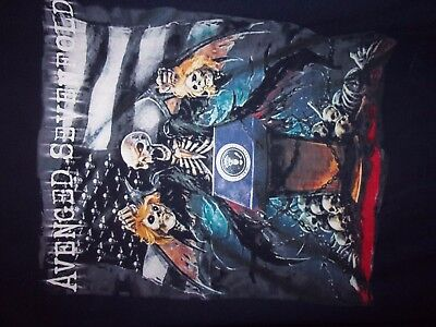 AVenged Sevenfold black graphic XL t shirt