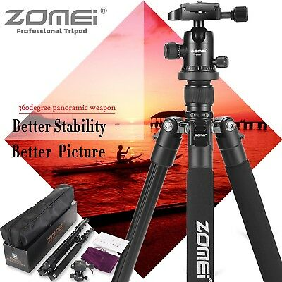 Zomei Q555 Portable Aluminium Camera Tripod Ball Head Stand for Canon SLR Camera
