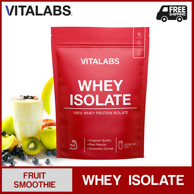 3KG WHEY PROTEIN ISOLATE POWDER WPI 100% PURE - Fruit Smoothie