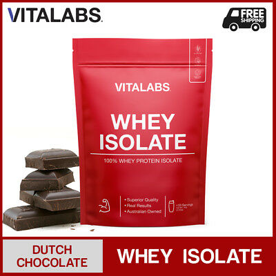 3KG WHEY PROTEIN ISOLATE POWDER WPI 100% PURE - Dutch Chocolate