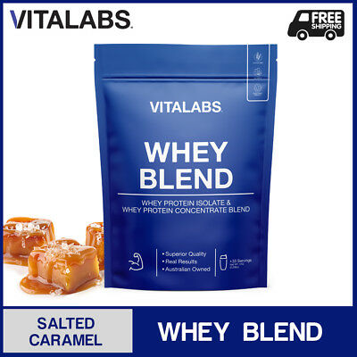 3KG WHEY PROTEIN POWDER WPC/WPI 100% PURE - Salted Caramel