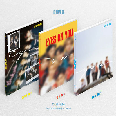 GOT7 KPOP Mini Album EYES ON YOU [EYES Ver. or ON Ver. or YOU Ver.] CD