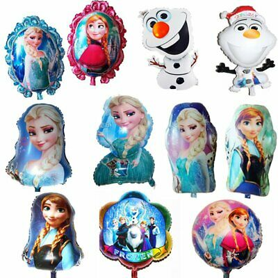 Double-Side Cartoon Disney Frozen Foil Balloons For Birthday Party Decoration